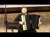 Мирко Патаррини на аккордеоне Scandalli танго Кумпарсита