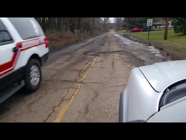Разбитые дороги в США Полная версия Истерика Американца