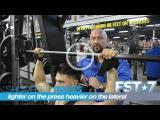 70 Seconds on FST-7 Shoulder Press Lateral Raise Super Set