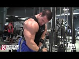 Steve Kuclo Trains Bi's and Tri's