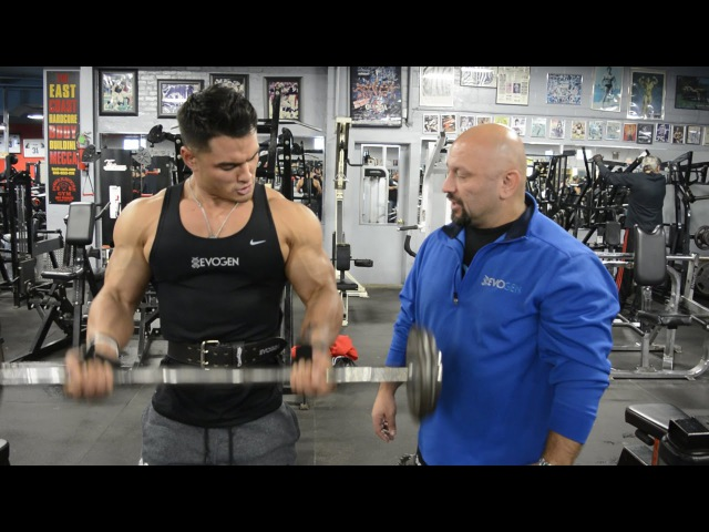 70 Seconds on FST-7 Super Set Cambered Bar Curl and Hammer Curl