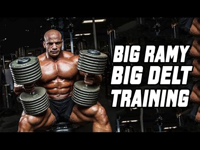 Big Ramy's Heavy Shoulder Training For MASS at Oxygen Gym