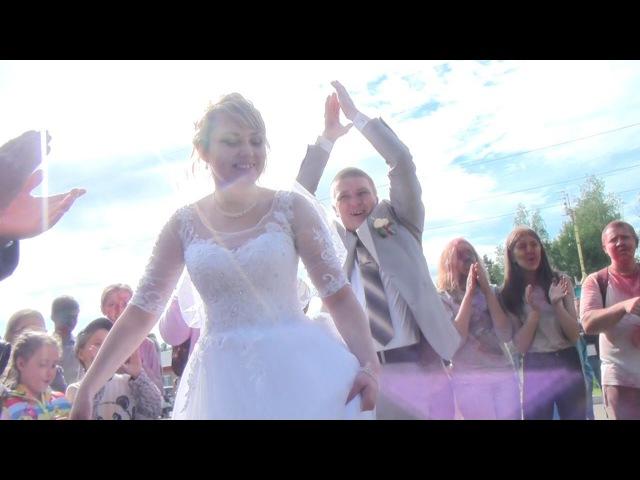 Спонтанный флешмоб для жениха и невесты.Парк *Скитские пруды* Краски Холли.Танец...