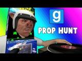 Gmod Prop Hunt Funny Moments - DJ Space Invader! (Garry's Mod)