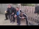Подборка драк Алкаши, гопники Пьяная вырубает камнем по голове 19 всем смотреть