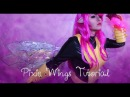 Pixie Fairy Wing Tutorial Different Cellophane Wings No Glue