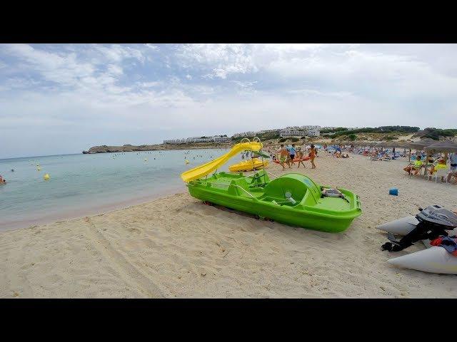 Пляж Кала Пудент Менорка / Playa Cala Pudent Menorca