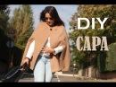 DIY Costura cómo hacer abrigo capa (patrones gratis)