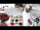 Окрашивание лент для вышивки быстро и просто