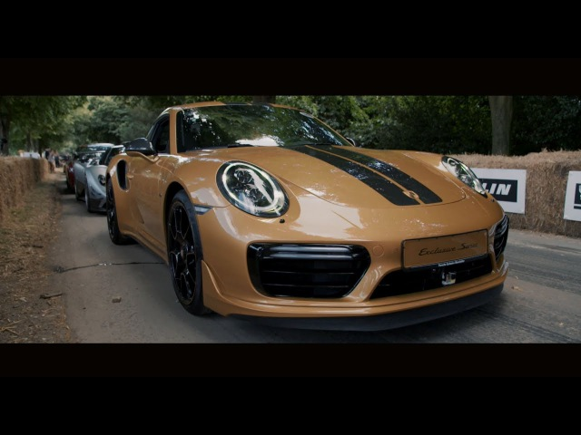 The new 911 Turbo S Exclusive Series – exceptional design performance come to Festival of Speed