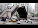 N Michigan Avenue Du Sable Bridge Chicago Downtown