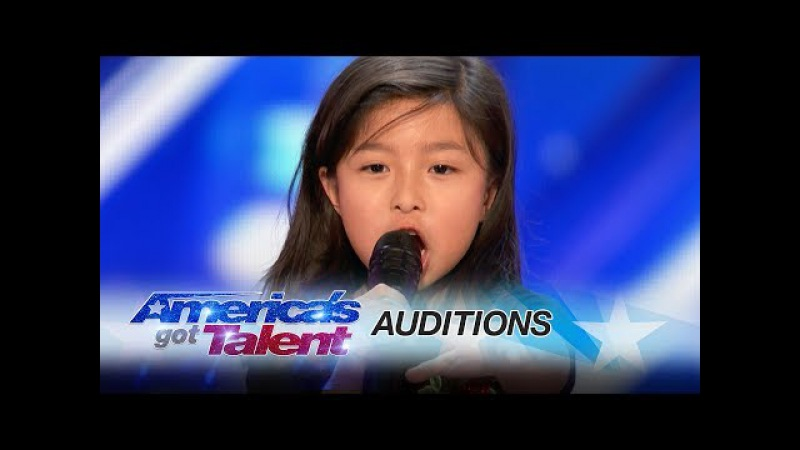 Celine Tam: 9-Year-Old Stuns Crowd with My Heart Will Go On - America's Got Talent 2017