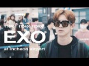 170401 170403 170407 exo at Incheon airport 엑소 인천공항 fan video