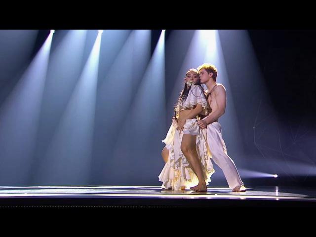 Танцы Станислав Пономарёв и Баина Басанова (Ibeyi - River) (сезон 3, серия 22)