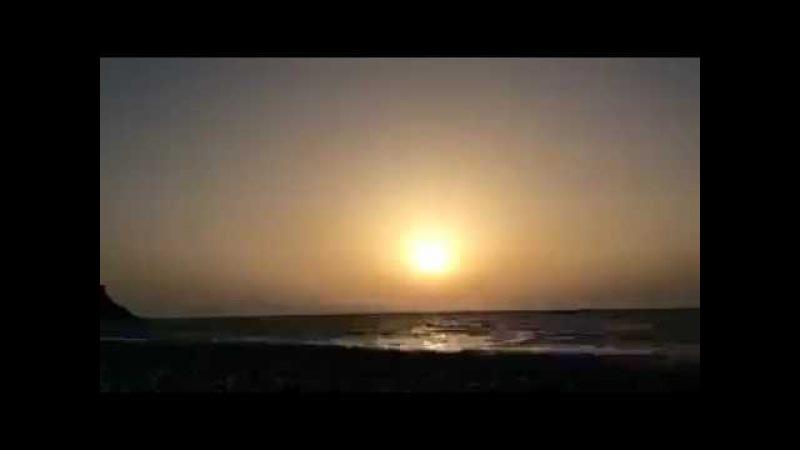 ПЛОСКАЯ ЗЕМЛЯ! Солнце не заходит за горизонт(Снято на камеру с ФИЛЬТРОМ)