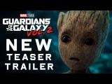 #ILMovieTrailers: Второй тизер-трейлер фильма «Стражи Галактики 2» / Guardians of the Galaxy Vol. 2
