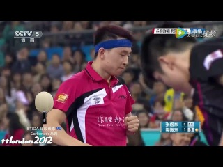 Fan Zhendong vs Zhang Yudong (China Super League 2016)