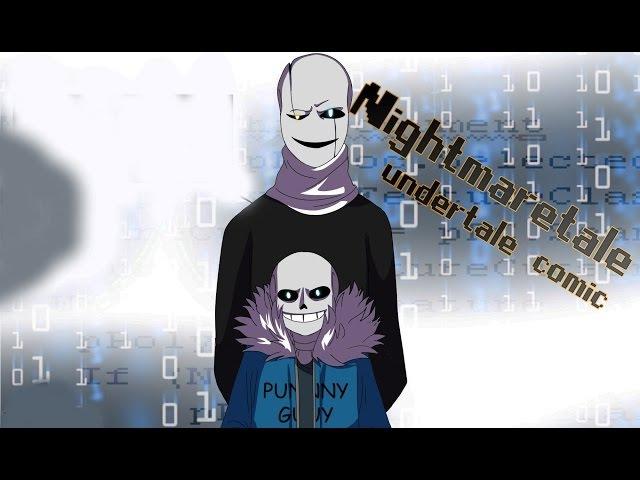 (undertale comic) Nightmaretale 12 | Русский дубляж [RUS]