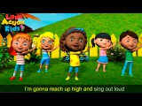 The Tofa Tafa Song The BEST Action Song for Children Little Action Kids