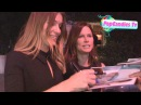 Ivana Milicevic Rhona Mitra greet fans at ELLE Women In Television Celebration at Sunset Tower