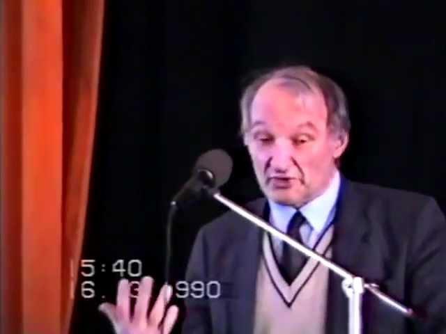 Г.П. Щедровицкий: ОДИ в Сургуте (1990)