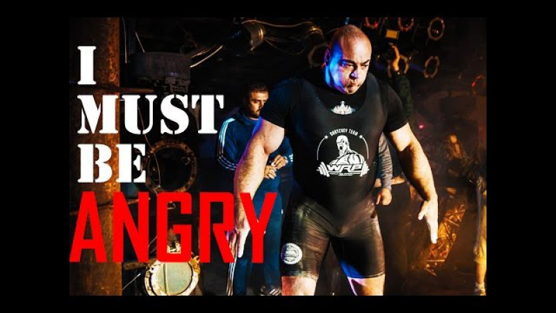 Powerlifting Motivation - I must be ANGRY | Konstantinov