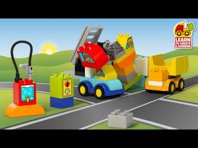 My First Cars and Trucks - LEGO DUPLO - 10816 - Product Animation