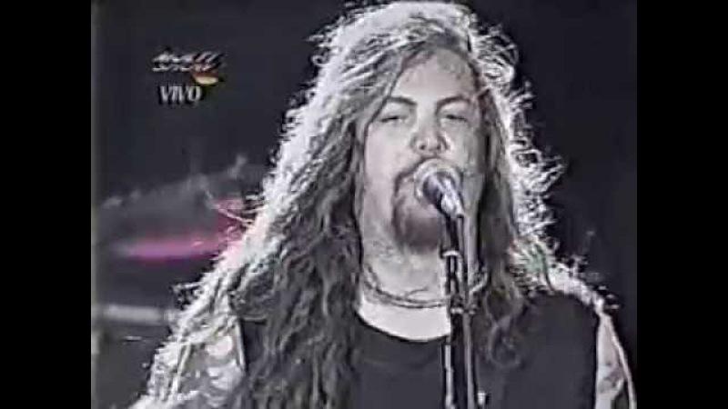 SEPULTURA AO VIVO NO HOLLYWOOD ROCK EM 1994