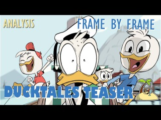 Ducktales teaser - Frame by frame animation analysis