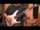 vildhjarta benblast guitar cover