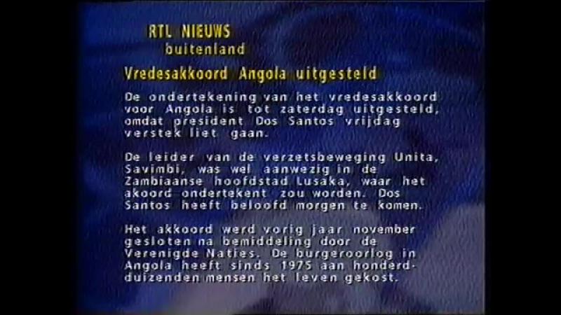 Анонс, заставка и конец эфира (RTL4 [Нидерланды], 05.05.1995)