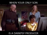 When your only son is a darkpsy producer