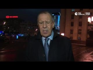 Лавров об убийстве российского посла