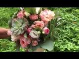 Букет невесты для прекрасной Ксении