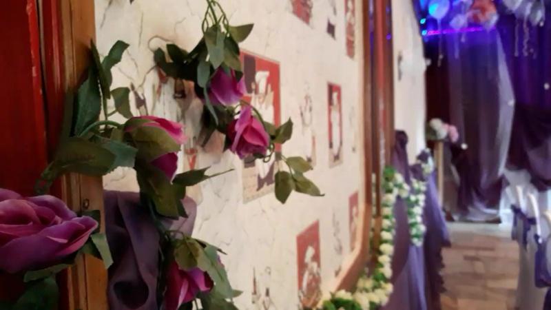Оформление зала Кафе КЕДР Свадьба в фиолетовой цвете🏵💜 смотреть онлайн без регистрации