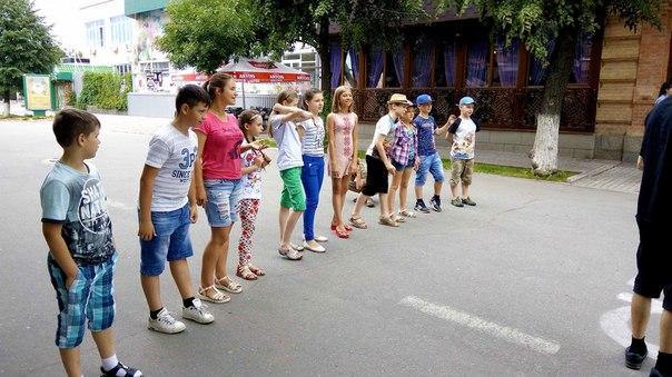 16 -го червня відбувся тренінг для діток арт-табору 'Сторінками історі