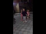 Детские танцы на вечерней анимации
