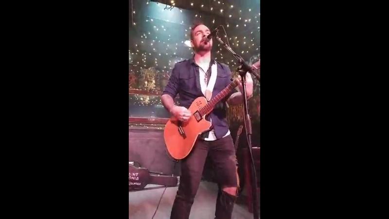 Adam Gontier - Sevendays (NEW SONG) @ John St. Pub, Arnprior, ON 28 Jul. 2017