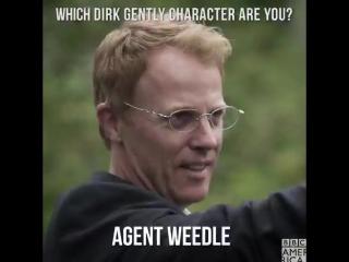 Какой ты персонаж из Дирка Джентли?