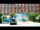 танец Синий платочек День города 8 июля 2017
