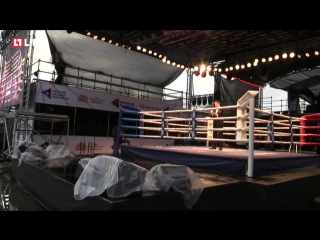 Бойцы ММА и профессиональные боксёры на Big Drama Show 2