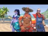 Gamanoid играет в Overwatch - Летние игры 2017, Жаркие скины, Лусиобол