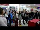 Флешмоб хору Канівського коледжу культури та мистецтв в магазині Маркет м Канів