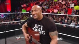 The Rock sings to Vickie Guerrero