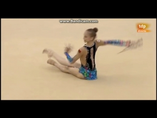 Юлия Евчик(БУЛАВЫ)(КМ Гвадалахара 2017)(Многоборье)