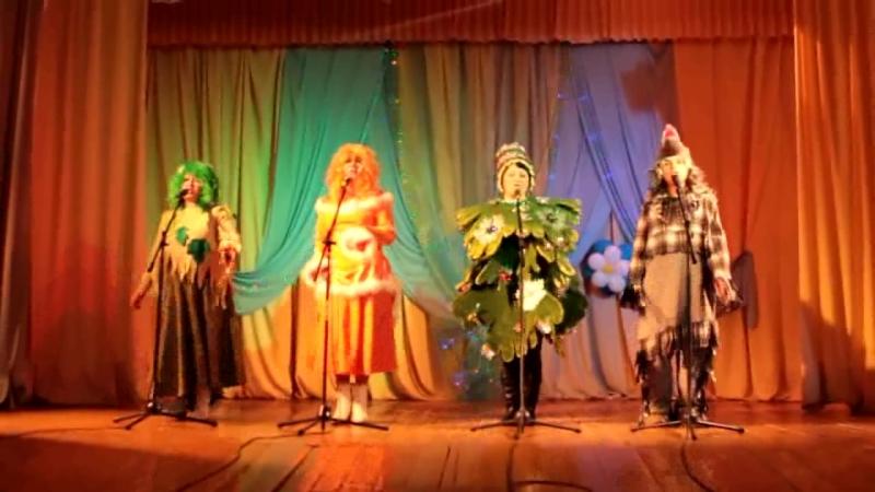 В лесу родилась елочка автор видео ансамбль Девчата МБУК Междуреченский Культурный центр