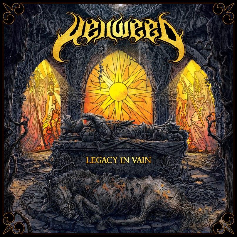 Новый EP группы HELLWEED - Legacy In Vain (2017)