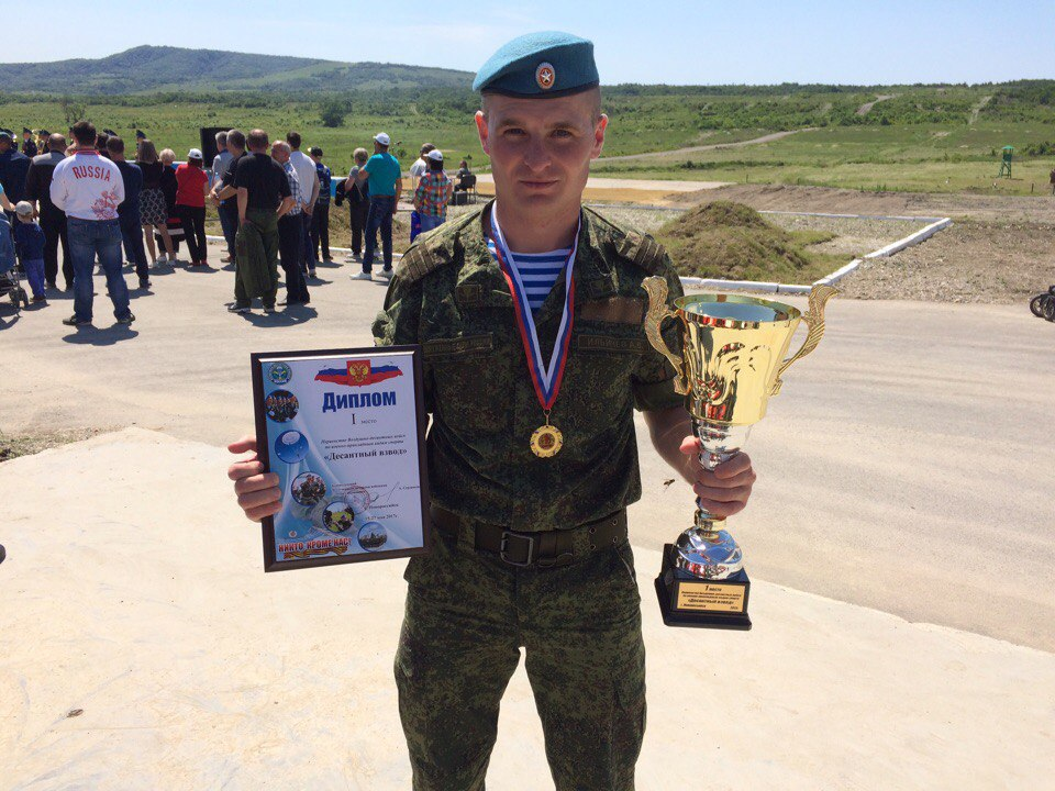 Житель Зеленчукской чемпион Международных армейских игр