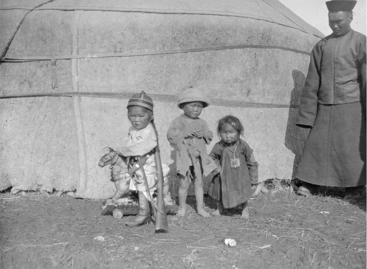 Дети Насамбатина