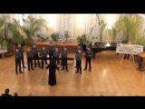 Грузинская народная песня. Исп. мужской ансамбль  хора мальчиков
